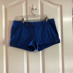 Royal blue shorts size 9 juniors by SO